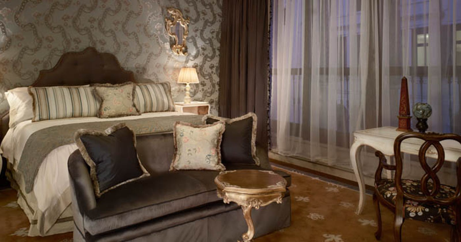 Prestige Room at Gritti Palace, Venice, Italy