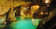 Natura Spa in the caves at Grotto Bay, Bermuda