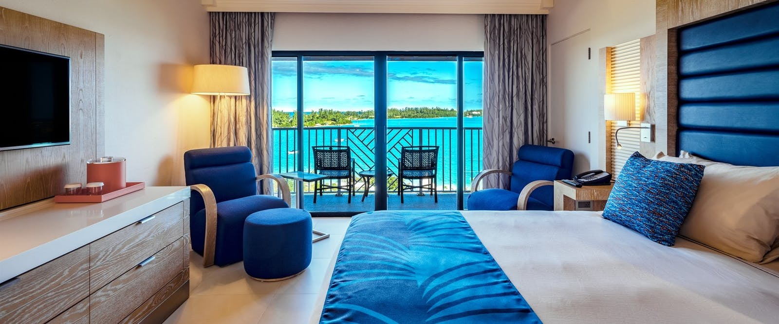 Accommodation at Grotto Bay, Bermuda
