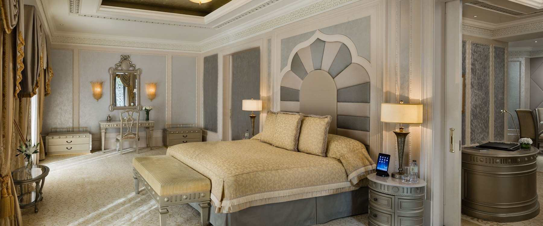 Deluxe Suite Bedroom at Emirates Palace, Abu Dhabi