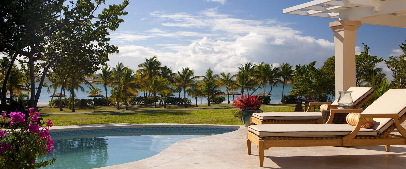 Pool Suite Terrace at Jumby Bay Island, Antigua