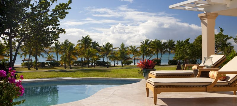pool suite terrace at jumby bay a rosewood resort antigua