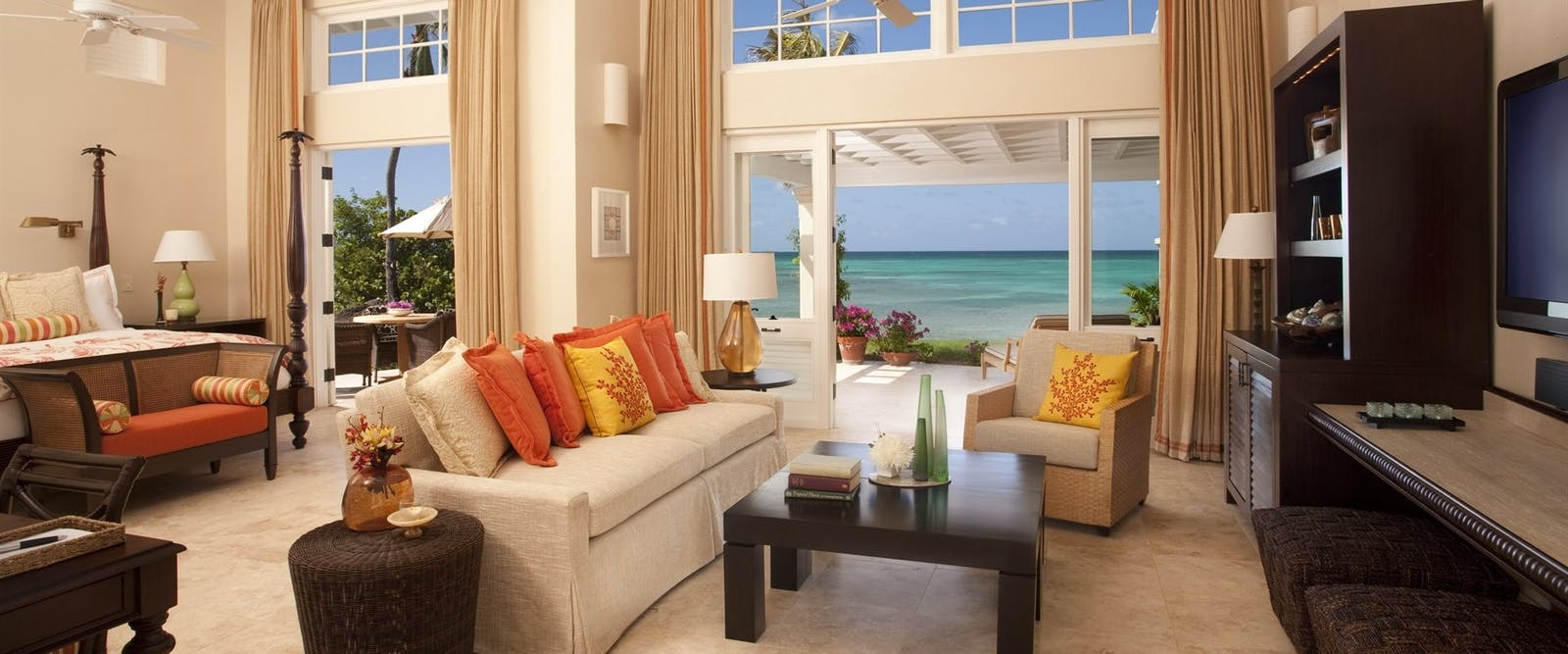 Beach Side Suite at Jumby Bay Island, Antigua