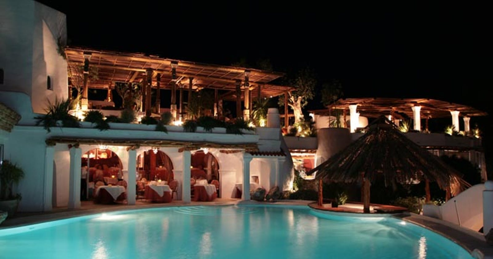 Swimming Pool at Hotel Hacienda Na Xamena, Ibiza, Spain
