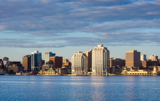 Waterfront of Halifax, Canada