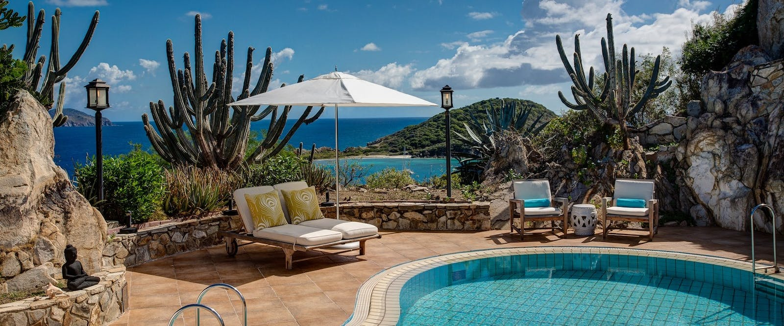 Pool area at Peter Island Resort & Spa, British Virgin Islands