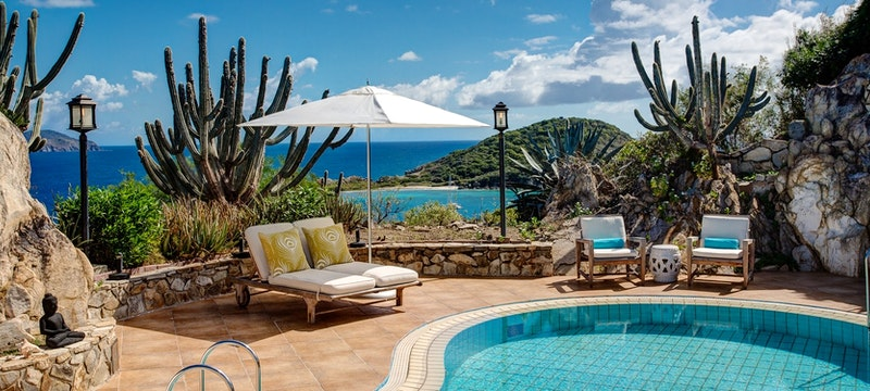 Pool area at Peter Island Resort & Spa, British Virgin Islands