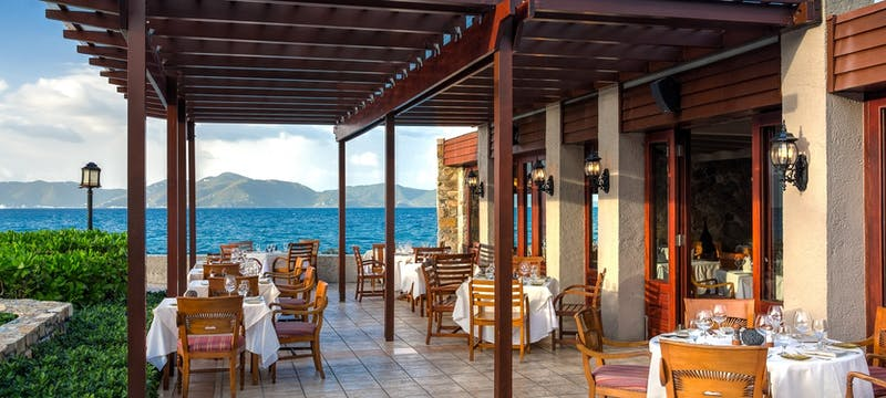 Tradewinds restaurant features the Caribbean's most renowned chefs at Peter Island Resort & Spa, British Virgin Islands