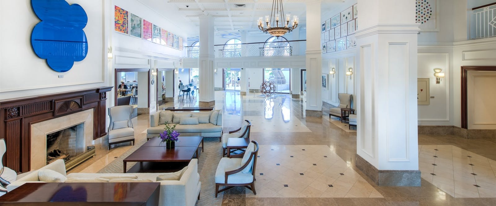 Lobby Area at Hamilton Princess & Beach Club, Bermuda