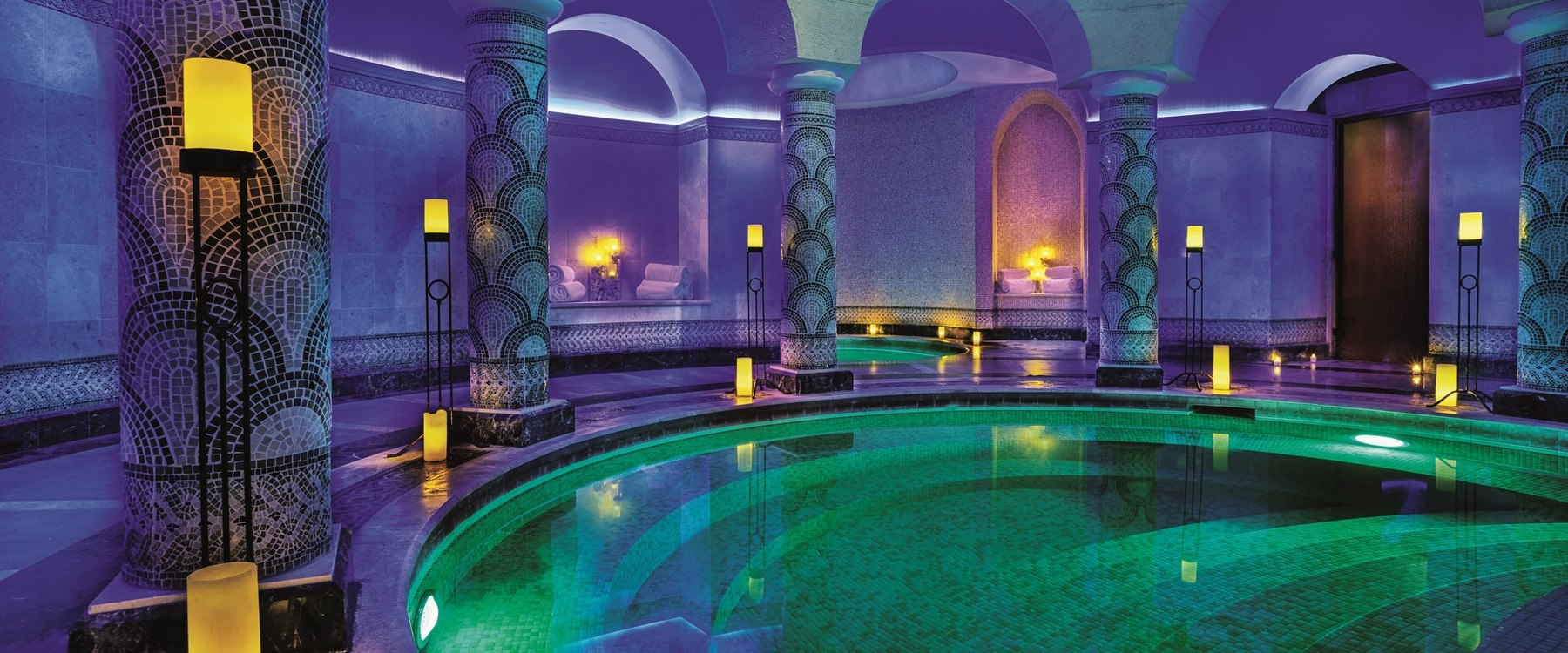 Hammam Pool at The Ritz Carlton Bahrain Hotel Villas and Spa