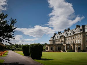 Exterior of The Gleneagles Hotel, Scotland, UK