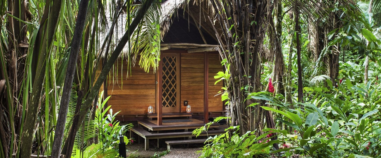 Exterior of cabana at Inkaterra Hacienda Concepcion