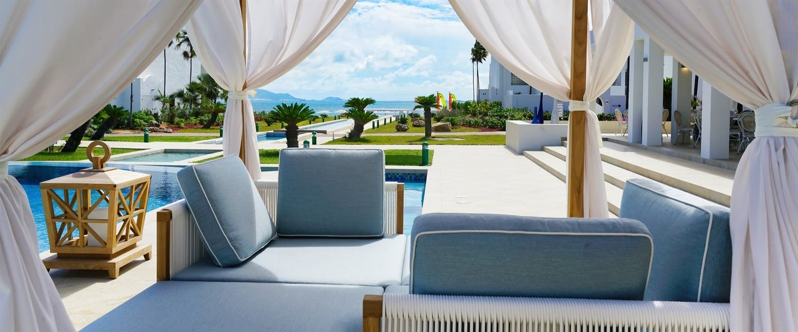 Poolside at CuisinArt Golf Resort & Spa, Anguilla