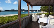 Enjoy fine dining with beach-side views at Hermitage Bay, Antigua