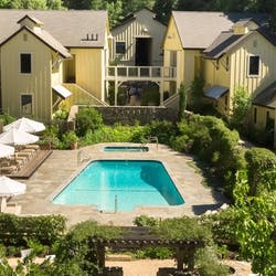 Aerial View of Farmhouse Inn, Sonoma