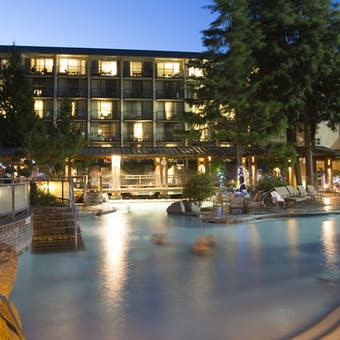 Pool at Harrison Hot Springs Resort