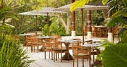 Kemiri Terrace Seating Landscape at Uma By COMO, Ubud