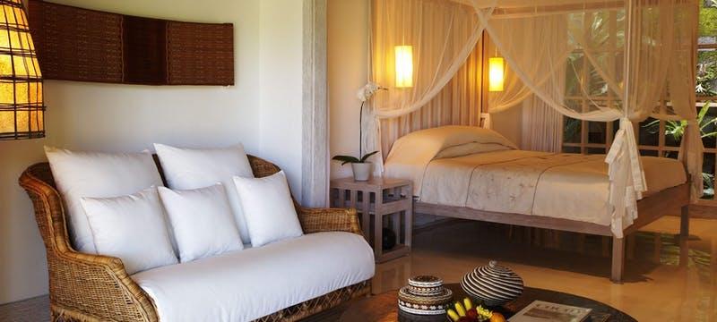 Uma Pool Suite Bedroom at  at Uma By COMO, Ubud