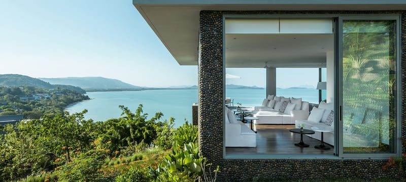 Villa exterior at COMO Point Yamu, Phuket, Thailand