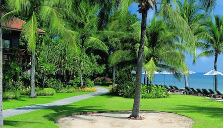 Garden sea view at Anantara Hua Hin Resort