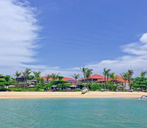 Beach Area at Fairmont Sanur Beach Bali