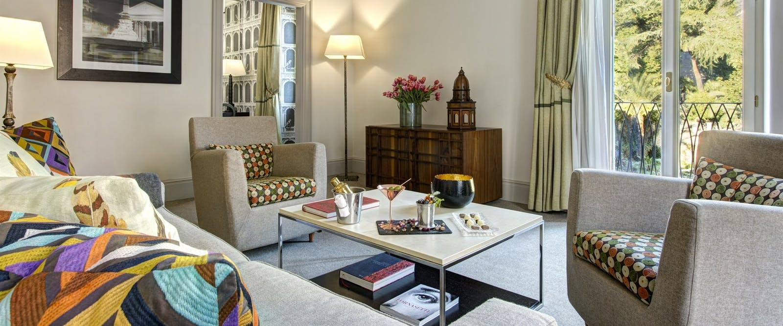 Executive Suite at Hotel De Russie, Rome, Italy