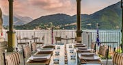 Escale Fondue Wine Bar Veranda at Grand Hotel Tremezzo, Lake Como