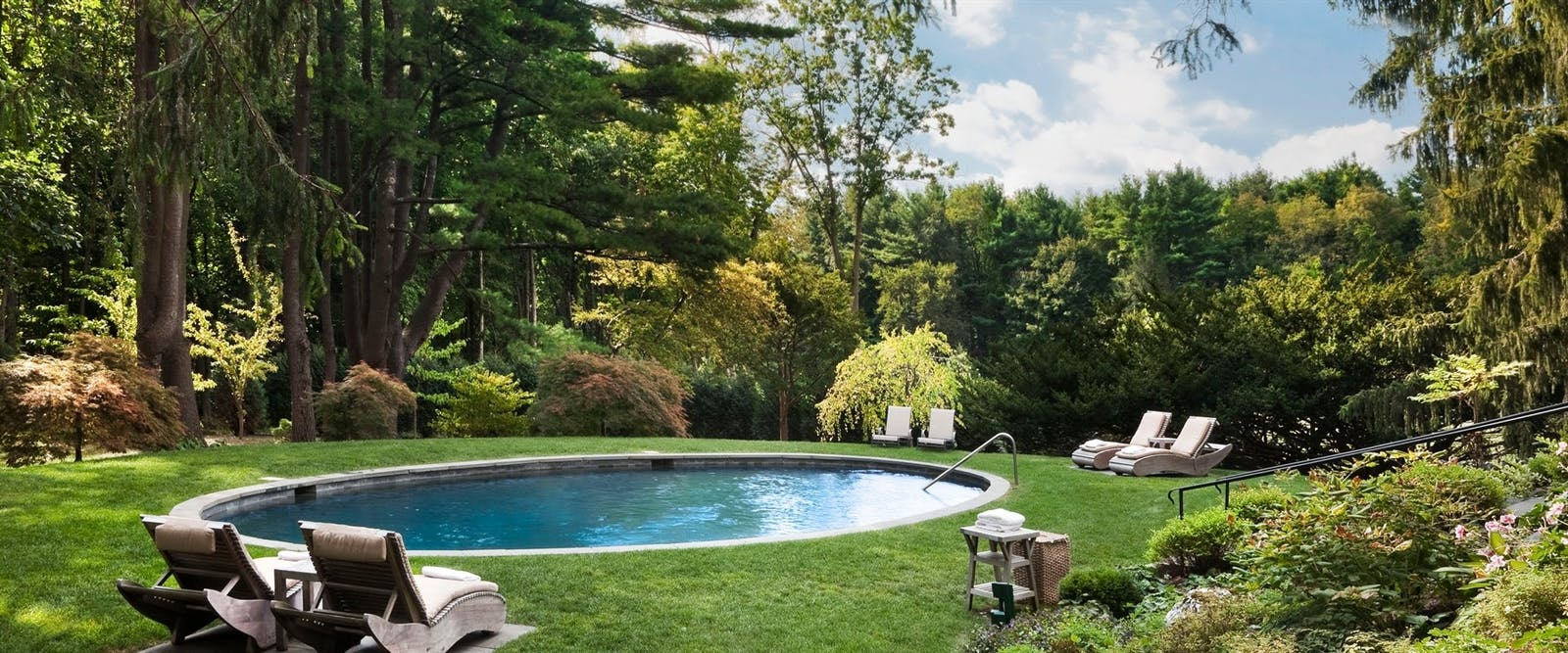 Pool at Wheatleigh, New England