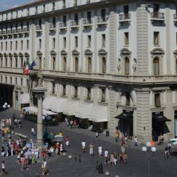 Exterior of Hotel Savoy, Florence
