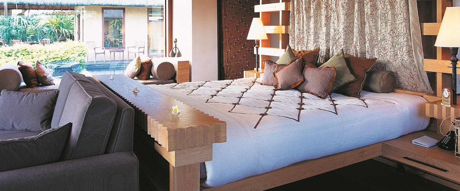 Royal Villa Bedroom at The Oberoi Mauritius