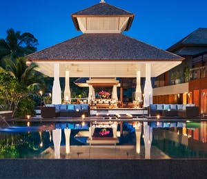 The lobby at Anantara Layan Phuket Resort, Thailand