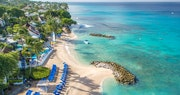 Aerial view of Crystal Cove, Barbados