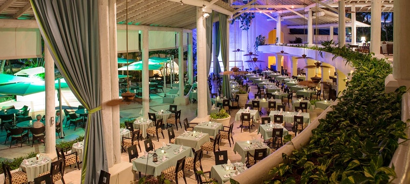 Indulge in international cuisines at Chelonia restaurant at Turtle Beach Resort, Barbados