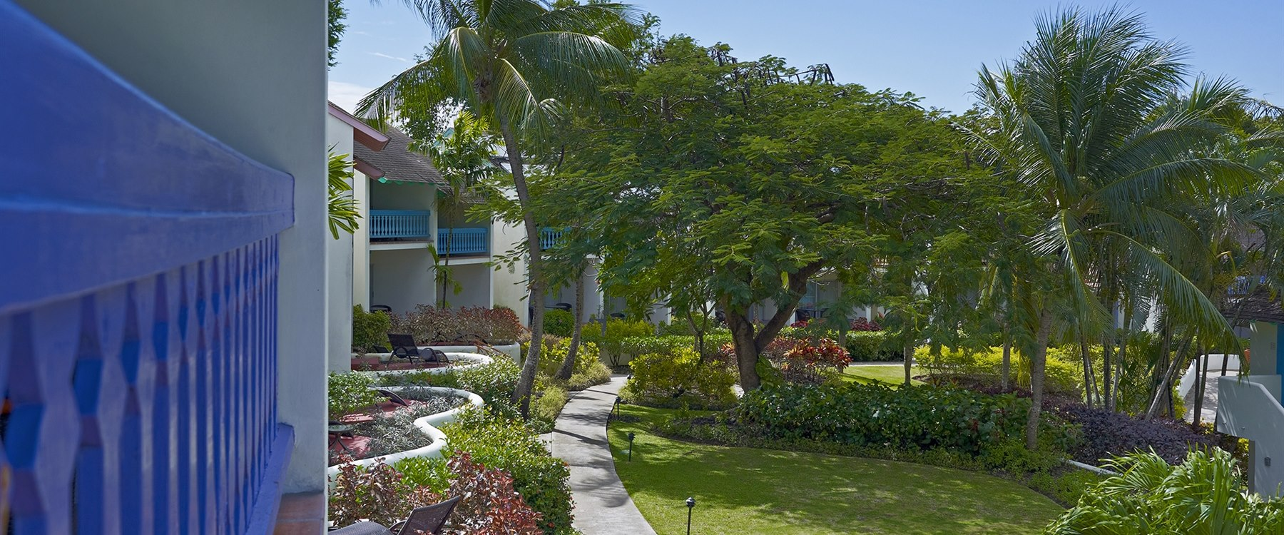 Garden View Bedrooms at Crystal Cove by Elegant Hotels, Barbados