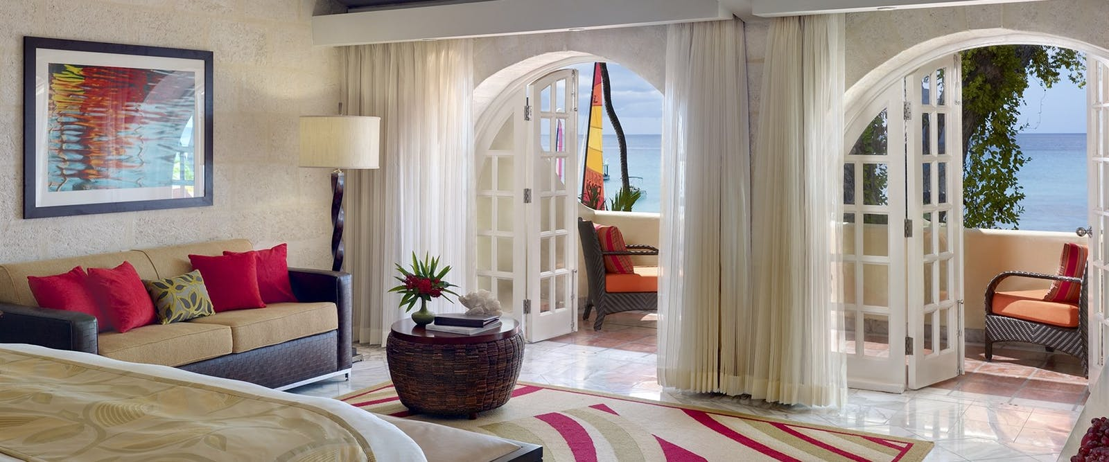 Ocean View Junior Suite at Tamarind by Elegant Hotels, Barbados