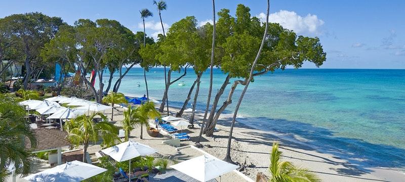 Serene beach at Tamarind by Elegant Hotels, Barbados