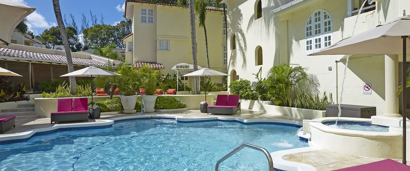 Spa Pool at Tamarind by Elegant Hotels, Barbados
