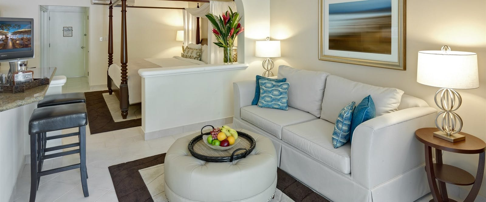 Ocean View Room Upper Floor at Colony Club by Elegant Hotels, Barbados, Caribbean