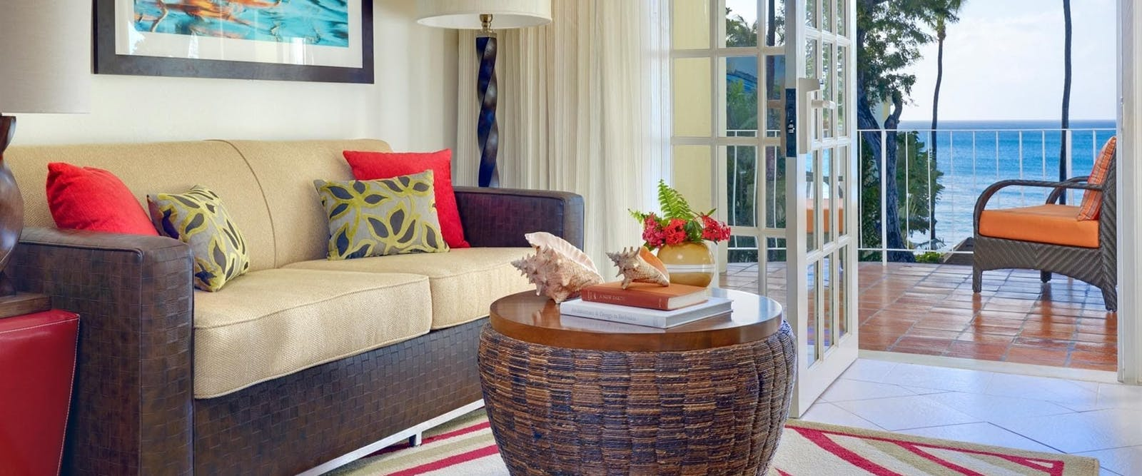 Oceanfront One Bedroom Suite at Tamarind by Elegant Hotels, Barbados