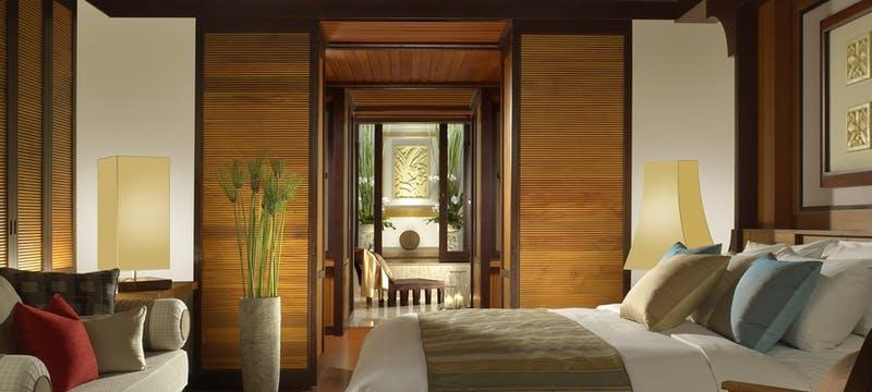 Hill villa interior at Pangkor Laut Resort