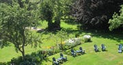 Garden at Hillsdale House Inn, Annapolis Royal