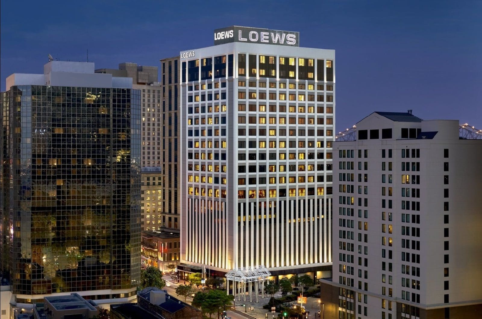 Building Exterior of Loews, New Orleans