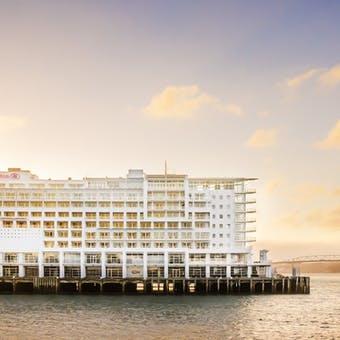 Exterior of Hilton Auckland, Auckland