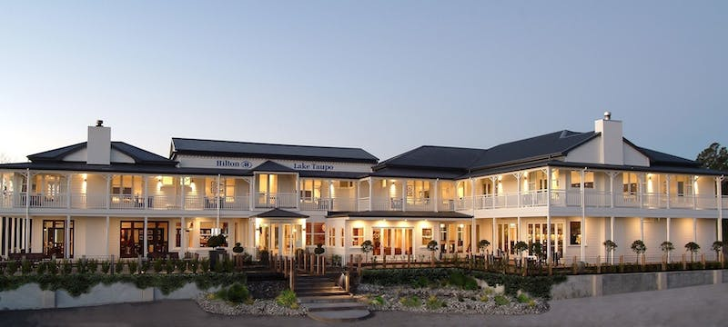 Exterior of Hilton Lake Taupo