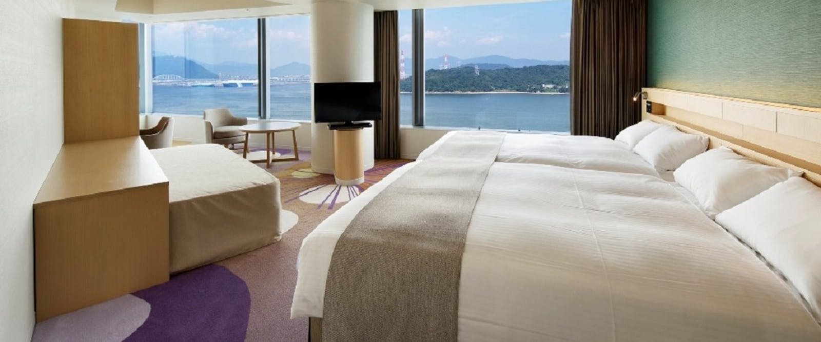 Luxury Room at Grand Prince Hotel Hiroshima, Japan