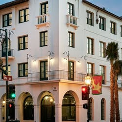Exterior of Hotel Californian, Santa Barbara