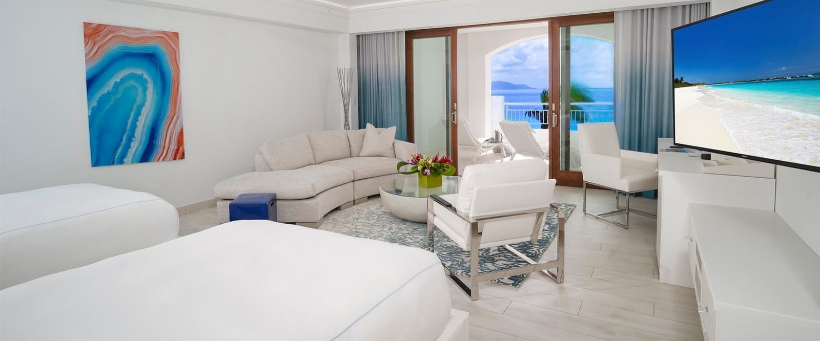 Deluxe Beachfront Junior Suite at CuisinArt Golf Resort & Spa, Anguilla