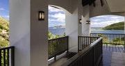 Hawk's Nest balcony view at Peter Island Villa Estates, British Virgin Islands