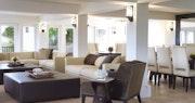 Hawk's Nest living room at Peter Island Villa Estates, British Virgin Islands