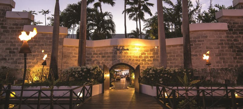 Beautiful entrance to The House by Elegant Hotels, Barbados